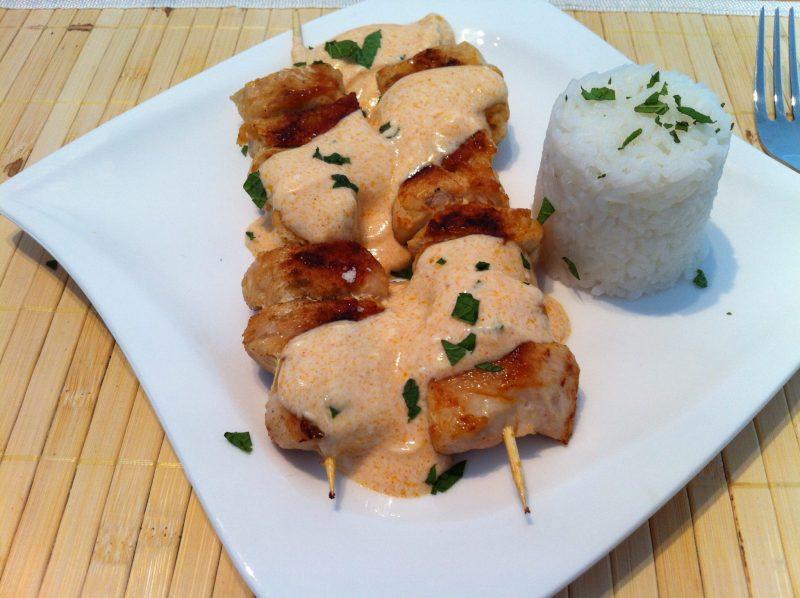 Die Proteinreiche-Hähnchenbrust-mit-türkischer-Joghurtsauce2