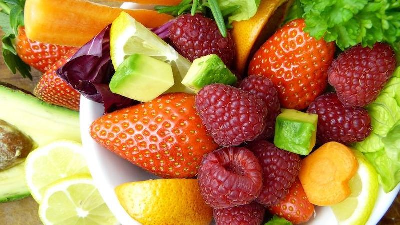 Obst und Gemüse Vitamine Immunsystem Fettverbrennung Fettabbau