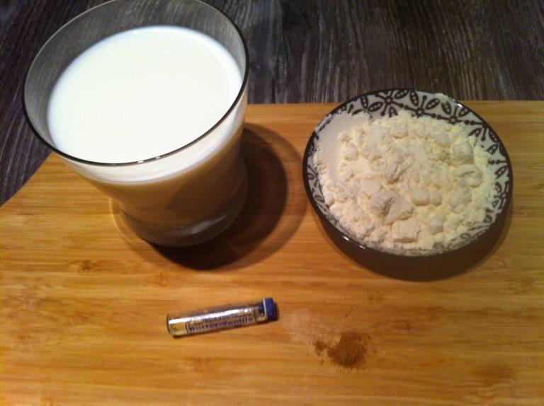 Christkind Protein Shake mit Lebkuchengeschmack1