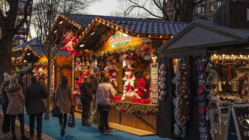 Weihnachtsmarkt Süßigkeiten Kalorien
