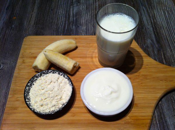 Der Protein Bananen Frühstücks Shake1
