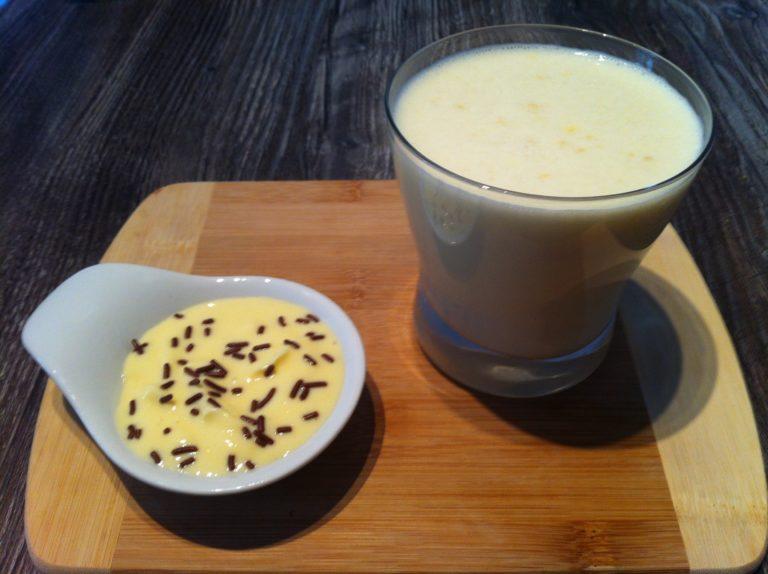 Der Protein Frühstücks Joghurt Drink
