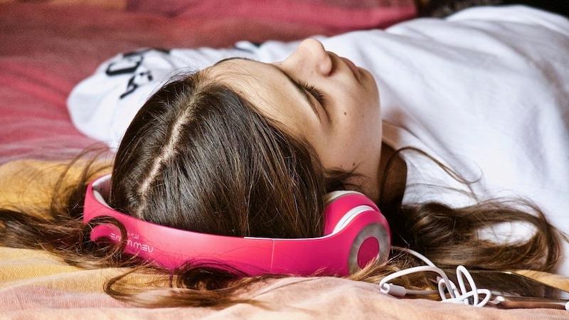 Binaurale Beats Musik Effekt