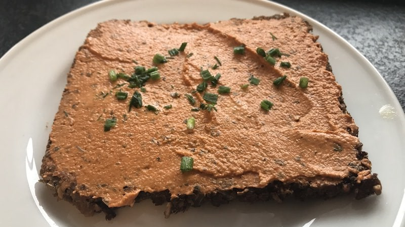 Veganer Brotaufstrich Rezept Zubereitung