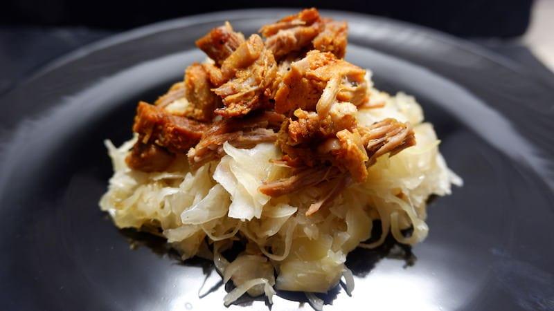 Pulled-Pork-Sauerkraut