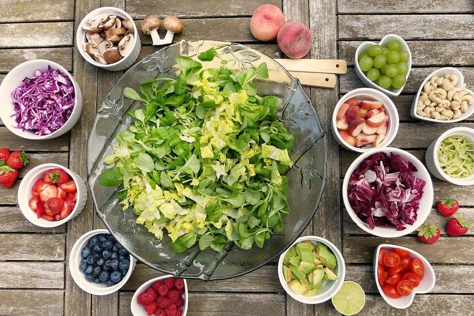 Vitamine, Salat, Obst