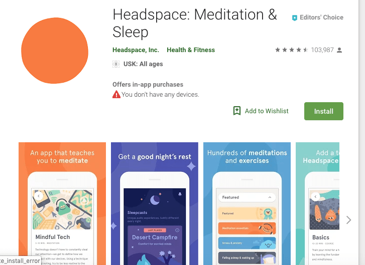 Headspeace: Meditation & Sleep
