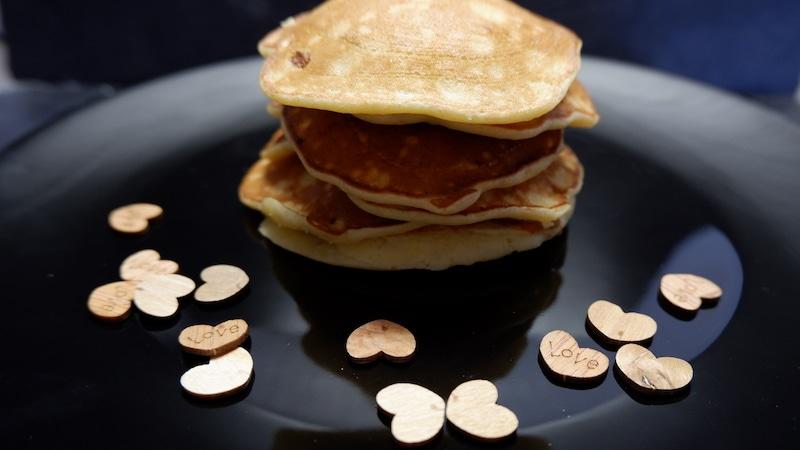 Hafer-Pancakes-Banane