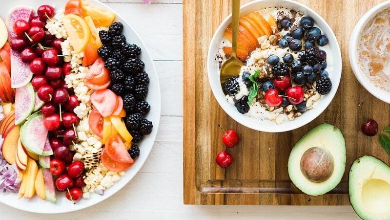 Snack, Gesund, Frühstück, Obst