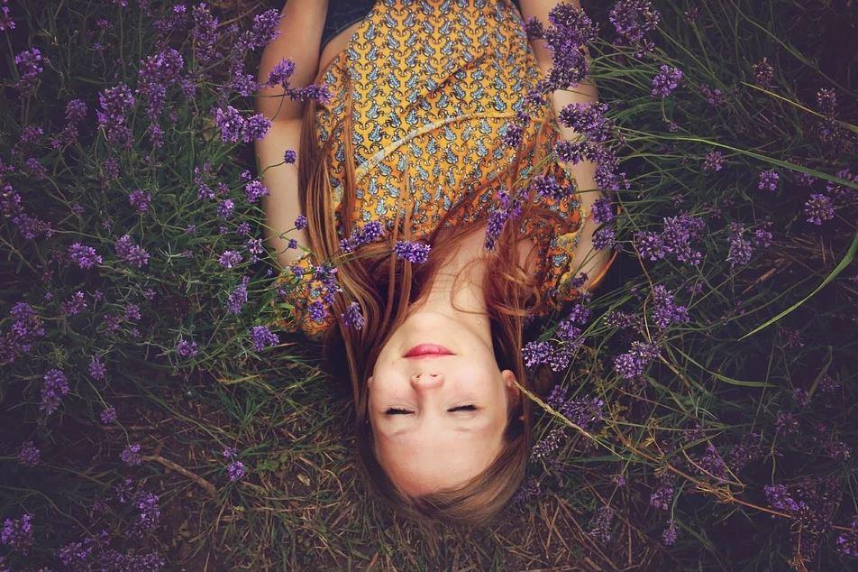 Lavendel. Entspannung, Chillen