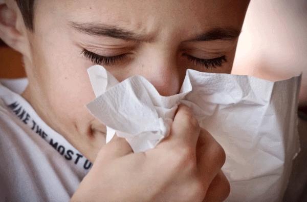 Erkältung, Krank