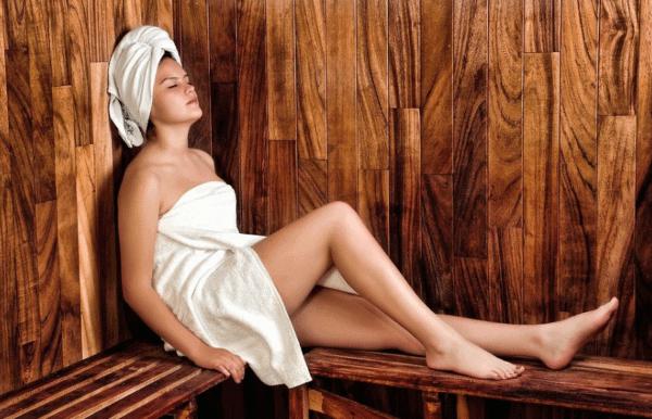 Sauna, Erholung