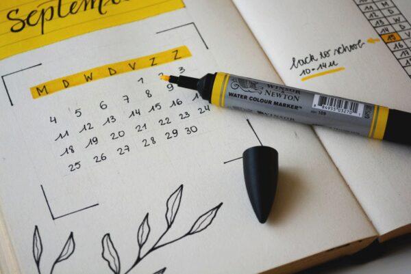 Kalender, Termine, Zeit