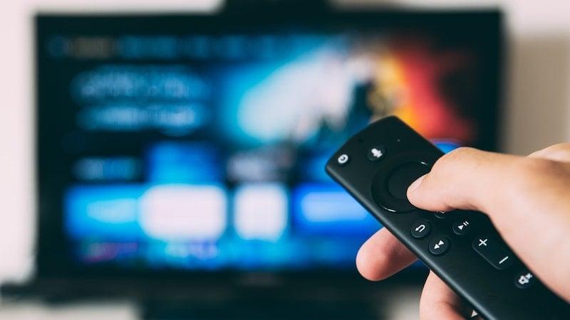 Fernsehen, TV, Fernbedienung