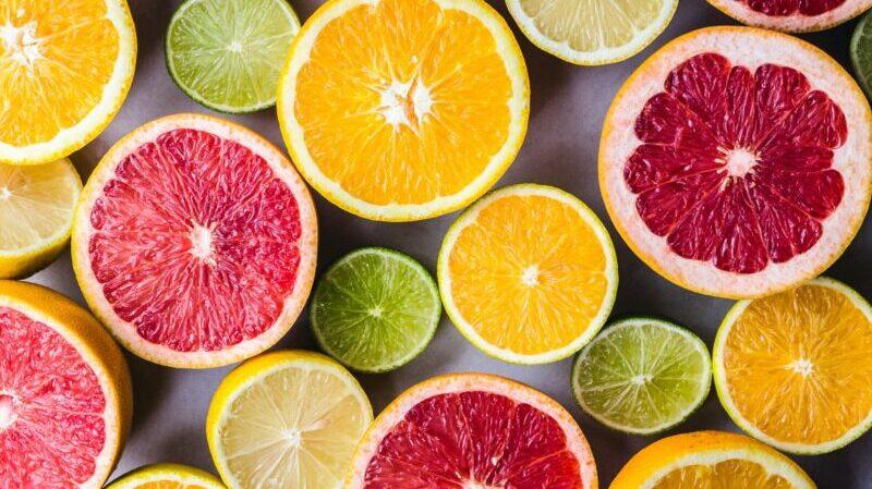 Zitrusfrüchte, Zitronen, Grapefruit