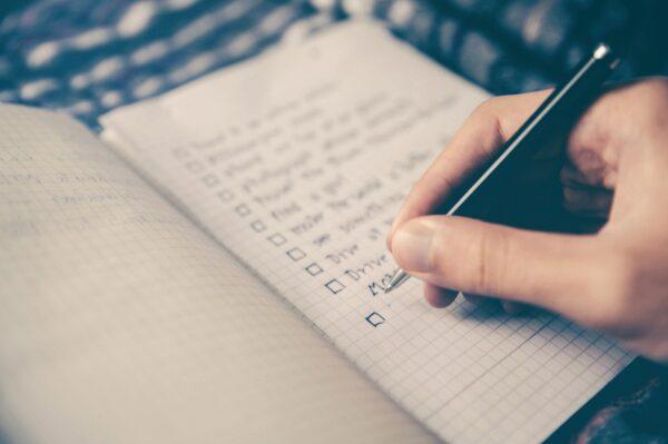 Plan, Einkaufsplan, Wochenplan