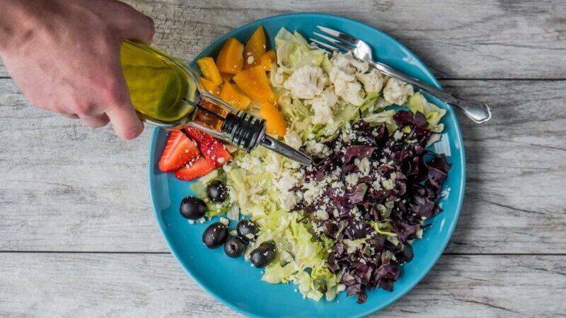Salat, Olivenöl